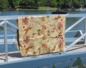 Vintage Burlap and Vinyl Tablecloth,Picnic Tablecloth,Outdoor Tablecloth,Patio Tablecloth,Barbecue Tablecloth,Free Shipping,6MTT15