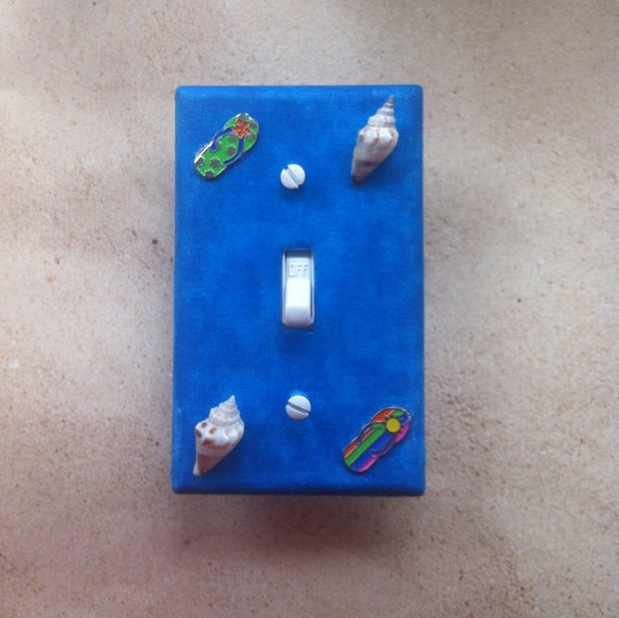 Items Similar To Beach Flip Flop Switch Plate Cover Beach