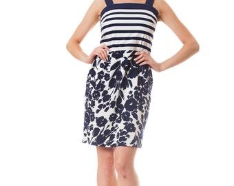 1950s Style nautical dress   Size: XS/S