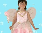 Pink Fairy Costume,Wings,...