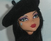 French Beret Hat for Fashion Dolls