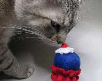 Cat Toy - Catnip Ice Cream Cone Cat Toy - Catnip Toy