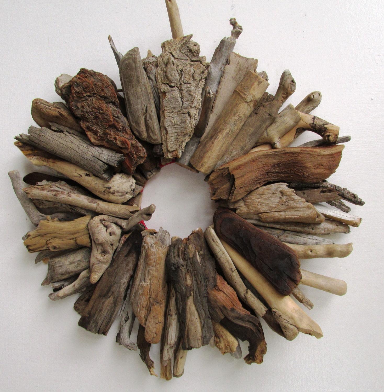 Driftwood Wreath Rustic Home Decor Beach Home Decor Made To Order Door