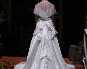 Vintage Bridallure Wedding Dress by Alfred Angelo circa 1980s