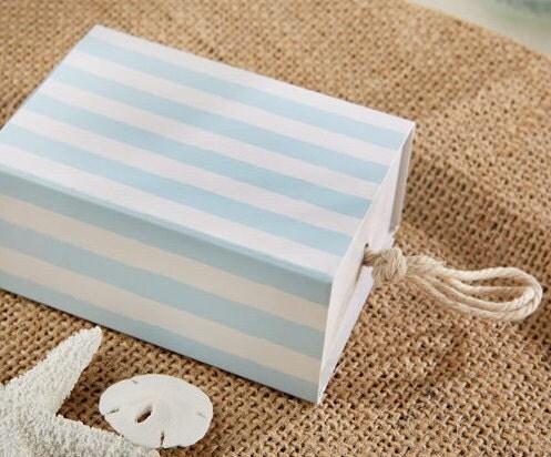 Beach Theme FAVOR BOXES Set Of 24 Wedding Favor Boxes