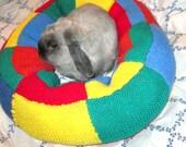 rabbit bed plump Ugli Donut for a medium size bunny