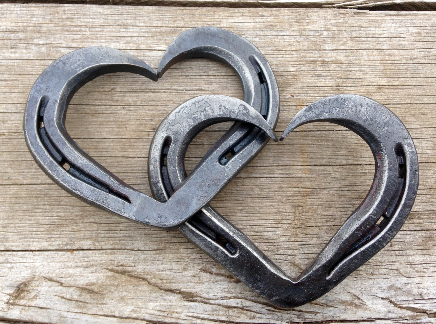 how to make a horseshoe heart
