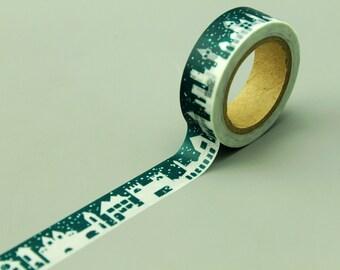 Washi Tape - Japanese Washi Tape - Masking Tape - Deco Tape - Filofax - Gift Wrapping - NMT154