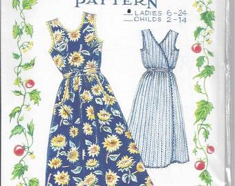 The Paisley Pincushion Criss-Cross Jumper Sewing Pattern - Ladies Sizes 6-24