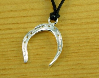 Horseshoe - Pendant Sterling silver 925 - made in Italy