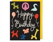 Balloon Animals Card