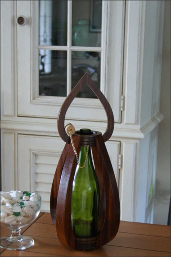 Wooden centerpiece candlelight lantern by woodsmithofnaples