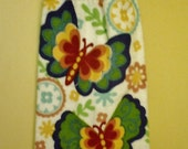 Bright Butterfly Hanging Towel