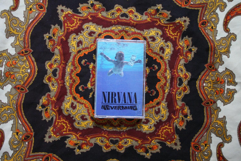 Reserved For Kyle Nirvana Nevermind Cassette Tape Rare