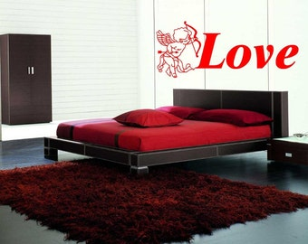 Cupid Love - Wall Art Sticker