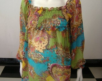 Gypsy Evening Maternity Top