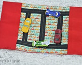 RTS Car Play Mat Boys Race Track Toy  Girls Car Take Along Toy  Kids Stocking Stuffer  Toddler Quiet Toy  Kids Toy Car Mat READY to SHIP
