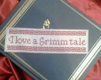 Pattern - I Love A Grimm Tale Bookmark
