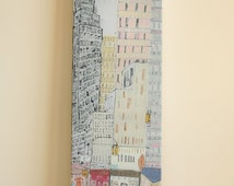 sale EMPIRE STATE BUILDING New York Canvas Art, Nyc Giclee Print, New York Taxis, Manhattan Painting, New York Diner, Shop Fronts, Skyscaper