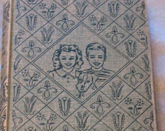The Bobbsey Twins, Antiquarian Book, 1950s, Old Book,  Vintage Book, Laura Lee Hope, Children's Book, The Bobbsey Twins Own Little Railroad