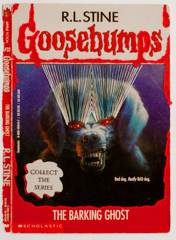Embroidered Book Cover - Goosebumps: The Barking Ghost