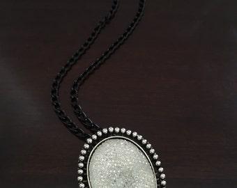 Crystallized pendant