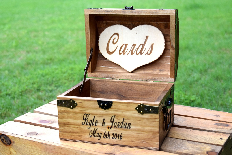 Wishing well lawn ornament - Rustic Wooden Card Box Rustic Wedding Card Box Rustic Wedding Decor Advice Box
