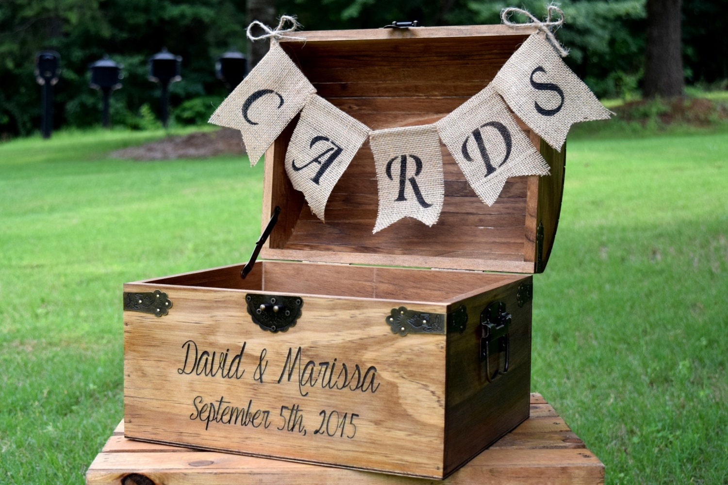 Rustic Wedding Gift Card Box : Wedding Card Box Rustic Wooden Card Box Rustic Wedding