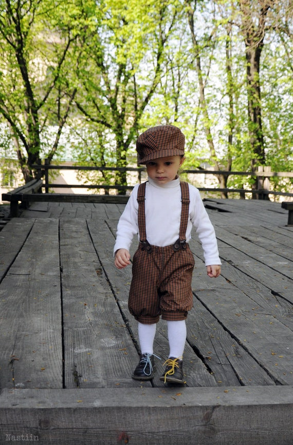Boy Knickerbockers Toddler Shorts Brown Baby Boy Brown Shorts