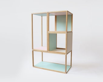 Parallel Shelving Furniture Multi Functional Custom