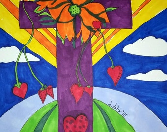 Reconciliation of the Cross Series Part Two ~ Series of 10 Crosses! 5 to 10 Prints of Each