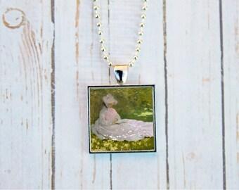 Claude Monet Springtime, Claude Monet Jewelry, Springtime Jewelry, Monet Jewelry,  Impressionism