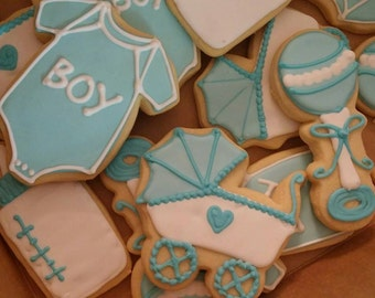 Cookies Baby Shower Favor Cookies