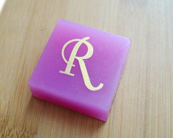 Monogram Soap - A Stamped Soap