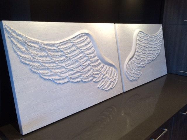 Angel Wings Wall Art angel wings wall art decor