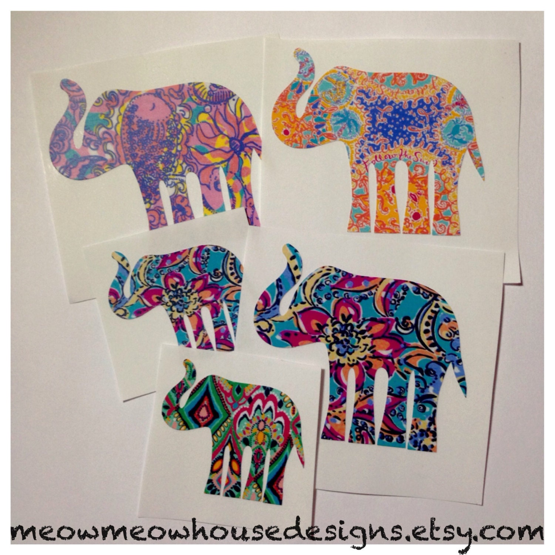 Elephant Decal Etsy Il Fullxfull Y