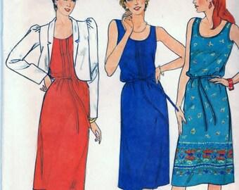 Butterick 4206 Sewing Pattern - Misses/Misses Petite Jacket, Dress and Belt