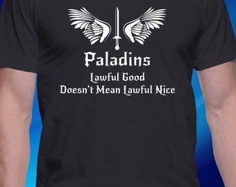 DnD Inspired Paladin T-shirt
