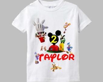 Mickey Birthday Shirt - Mickey Mouse Birthday Shirt
