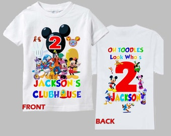 Mickey Clubhouse Birthday Shirt - Mickey Mouse Clubhouse Shirt