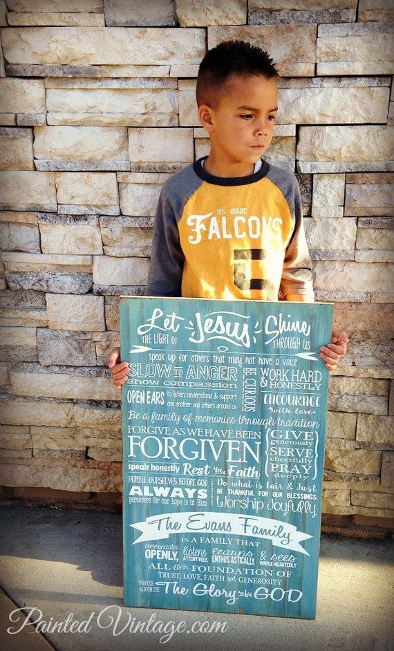 Mission Statement, Family Mission Sign, Christian Values, Family Creed Sign, Family Mantra, Scripture Art