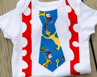 Dr. Seuss Green Eggs and Ham Baby Onesie