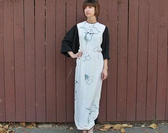 Vintage Michaele Vollbracht 'O' Keeffe' Full Length Gown