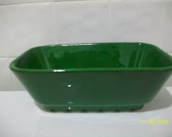 Shawnee leaf green planter/centerpiece