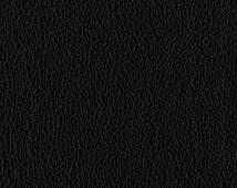 "BLACK Vinyl Fabric Pleather Fake Leather Fabric 54"" Wide"