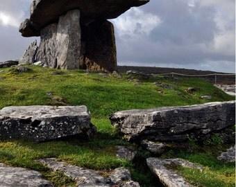 Countryside Irish Tomb Ireland Photo Download