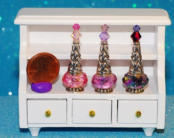 miniature bottle genie fairy potion magic
