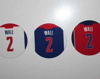 John Wall Washington Wizards 3 Piece Magnet Set