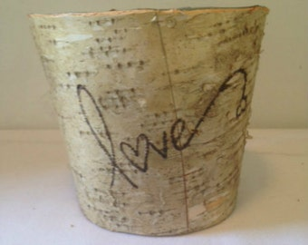 Birch Bark Pail