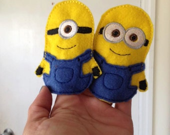 Minions Finger Puppets set of 4
